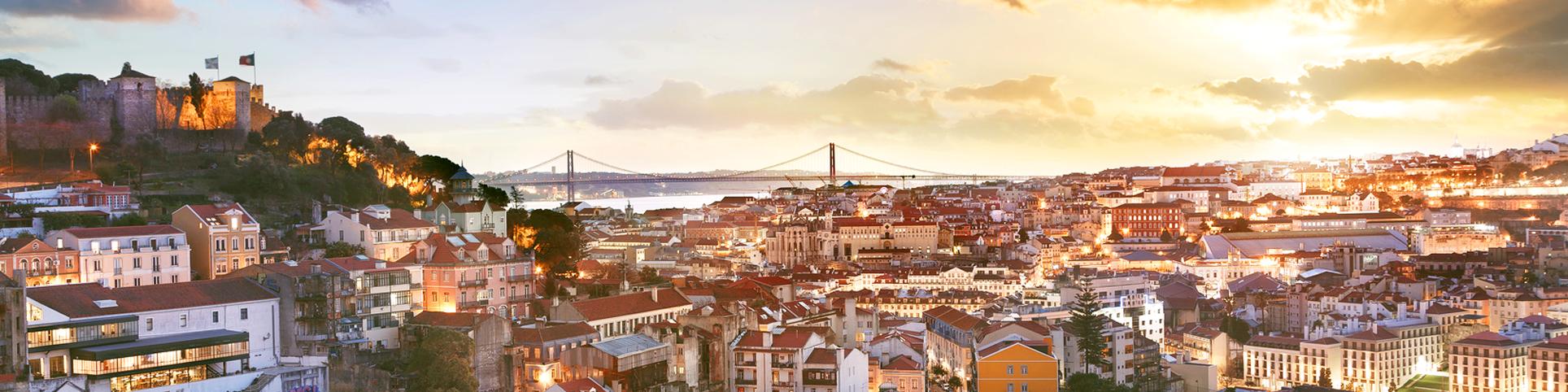 Terraços em Lisboa.