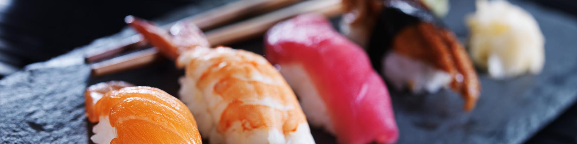 Restaurantes de sushi.